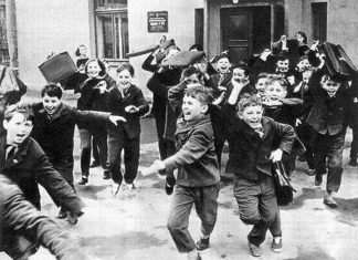 Школьники СССР
