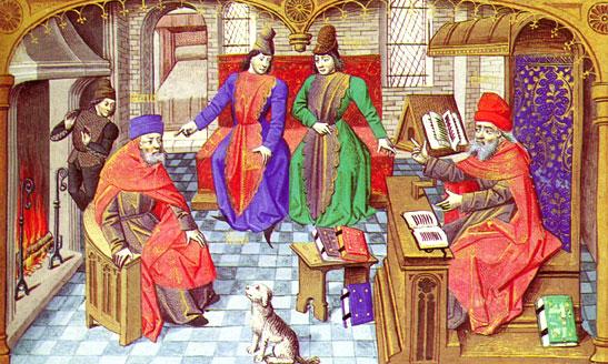Средневековый университет